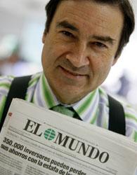 Pedro Jota Ramírez, exdirector de El Mundo